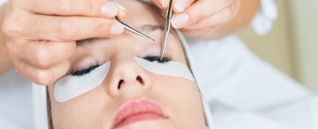 Eyelash Extensions Skin With Care